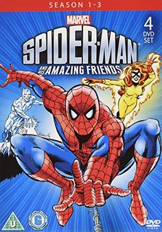 Spider-Man and His Amazing Friends (Season 1-3) - 4-DVD Set ( Spider-Man & His Amazing Friends (Season One, Two & Three) ) [ NON-USA FORMAT, PAL, Reg.2 Import - United Kingdom ]:   United Kingdom released, PAL/Region 2 DVD: it WILL NOT play on standard US DVD player. You need multi-region PAL/NTSC DVD player to view it in USA/Canada: LANGUAGES: English ( Dolby Digital Stereo ), German ( Dolby Digital Stereo ), Danish ( Subtitles ), Dutch ( Subtitles ), Finnish ( Subtitles ), Norwegian ...