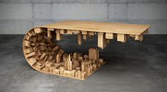 Inception-Inspired Wave City Coffee Table | HiConsumption