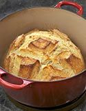 French Oven Bread - simple and easy recipe you make in a dutch oven. It really is as easy as the recipe appears--a Must Try!