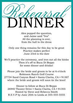 Beautiful rehearsal dinner prayer.   Other Wedding Stuff ...