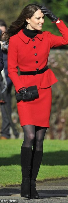 Kate Middleton had her $1,000 coat made longer - and it's not the first time   Daily Mail Online