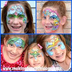 #Skinmarkz #facepainting #Margipaints #ilovecolor  Here are some of my fun designs in the new April Edition of Skinmarkz magazine! Order your copy today and get the latest scoop on face and body art.Thank you Becky Lyyski for inviting me to share. To purchase your copy go to http://www.magcloud.com/browse/issue/892030