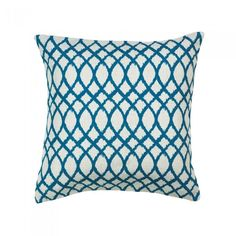 Accent Plus Teal Tide Throw Pillow