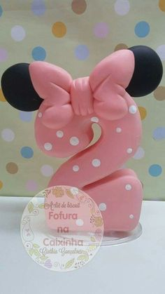 Disney Cakes Part 4 – Mickey and the Gang Cakes Number Cake Toppers, Fondant Cake Toppers, Number Cakes, Fondant Figures, Cupcake Cakes, Cupcakes, Mickey Cakes, Minnie Mouse Cake, Fondant Numbers