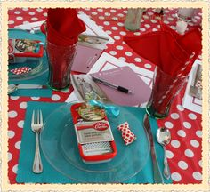 Rose Vignettes Fun Retro Desperate Housewives Bridal Shower