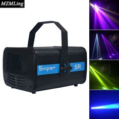New 200w 5r Led Sniper Stage Light Ac110-240v 50/60 Hz 8000k 3 Pin / 5 Pin Professional Stage & Dj/Party/Stage Lighting Effect