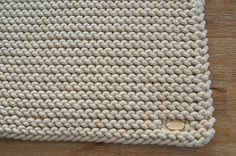 Handmade placemats Cotton placemats Set of 4 Knitted