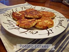 Hanukkah Latke recipe. {The Sideways House: The Festival of Lights}