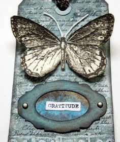 My word for the year: Gratitude Distress Oxides, I Give Up, Happy Wednesday, Journal Covers, Watercolor Paper, Doodles, Words, Gratitude, Tags