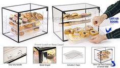 countertop bakery display
