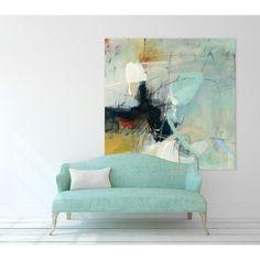 "Clicart 72 in. X 72 in. ""Apex I"" van CJ Anderson Printed Framed Canvas Wall Art - Schilder Jeny Kunst Abstract Canvas, Oil Painting On Canvas, Painting Abstract, Painting Art, Canvas Frame, Canvas Wall Art, Painted Canvas, Large Canvas, Canvas Prints"