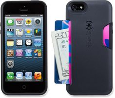On game day keep all your important things in one place. Speck SmartFlex Card Case - iPhone 5.