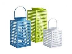 Square Modern Lanterns $7.50 - $25.00, Pier 1 Imports