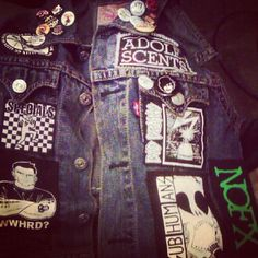 My baybay punk jacket