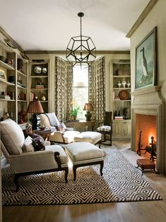 Small Den Design, Pictures, Remodel, Decor and