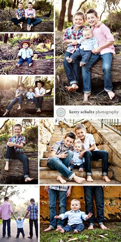 I love using props in my photo sessions. Kids love to have something different to touch, play with or act out. Makes things a little more fun! Children and Family Photographer, Children Photography Ideas, Brothers, Kerry Schultz Photography