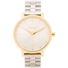 Nixon The Kensington Accessories (€165) ❤ liked on Polyvore featuring jewelry, watches, accessories, bracelets, reloj, stainless steel jewelry, stainless steel jewellery, stainless steel watches, nixon jewelry and nixon watches