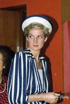 November 16, 1986: Princess Diana visiting Bahrain.