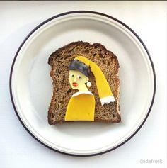 毎日の朝が楽しくなる「トースト」を使ったフードアート13選 - macaroni