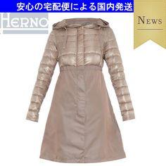15SS☆軽量ダウンキルティング&ナイロンコート☆HERNO ヘルノ