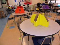 Classroom Keepers provide storage space for students who sit at tables.