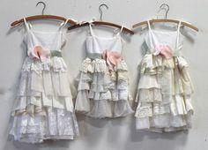 Deposit for Valerie Byers' Custom Flower Girl Dresses Baby Girl Fashion, I Love Fashion, Kids Fashion, Cute Dresses, Flower Girl Dresses, Shabby Chic, Girl Dress Patterns, Boho Girl, Beautiful Little Girls
