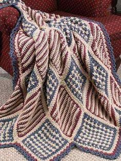 Heartland Comforts Lapghan Free Crochet Pattern from The Yarn Box