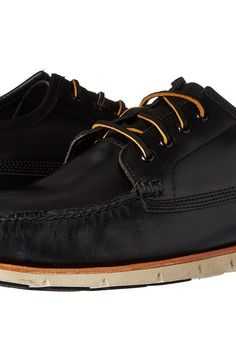 Timberland Tidelands Ranger Moc (Black Full Grain) Men's Lace up casual Shoes - Timberland, Tidelands Ranger Moc, TB0A1K1L001-001, Footwear Closed Lace up casual, Lace up casual, Closed Footwear, Footwear, Shoes, Gift - Outfit Ideas And Street Style 2017
