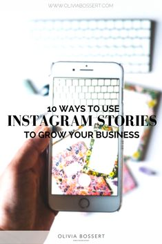 10 Ways To Use Instagram Stories To Grow Your Business // www.oliviabossert.com // #instagramstories #howto #businessgrowth #businesstips #instagramtips #socialmedia #socialmediatips #instagramstoriestips #business #onlinebusiness #smallbusiness #influencer E Commerce Business, Ecommerce, Website, Ideas, E Commerce, Thoughts