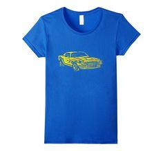 Classic Car T-Shirt Vintage Race Automotive Retro 70s Tee 3d