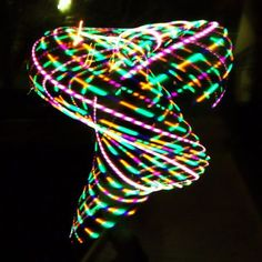 Citiva Creationz LED Hoops