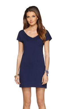 Daniella T-Shirt Dress Style #: 78749 Print:True Navy $88