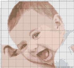 Cross Stitch Baby, Cross Stitch Animals, Cross Stitch Charts, Cross Stitch Patterns, Blackwork Embroidery, Pixel Art, Decor Crafts, Craft Decorations, Art For Kids
