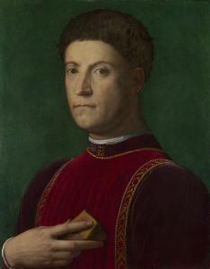Portrait of Piero de' Medici - Agnolo Bronzino - The Athenaeum