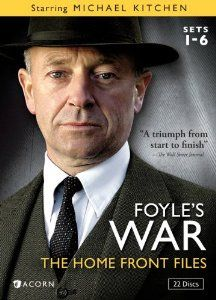 Foyle's War: The Home Front Files: Michael Kitchen, Honeysuckle Weeks << Fantastic little mystery series, intelligently written, and the costumes and props are mind-blowing. Love the attention to detail!