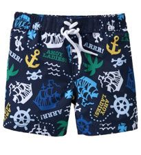 Anchor Printed Swim Trunks. Photo and item from Old Navy.