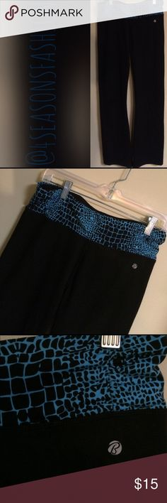 🎉🎈JUST IN🎉🎈 BALLY TOTAL FITNESS BLK WORKOUT PANTS IN PERFECT CONDITION. SZ 8/10 women's Bally Pants