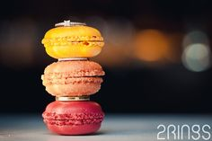 Gorgeous macarons & wedding rings! Trouwreportage Amsterdam – Elsbeth