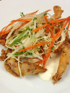 Soft shell crab season won't last forever. Join us this weekend to enjoy them as an appetizer or entree.