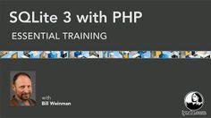 Lynda - SQLite 3 with PHP Essential Training http://tutdownload.com/all-tutorials/programming/php/lynda-sqlite-3-with-php-essential-training/
