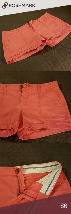 """Pink Old Navy """"Perfect Shorts"""" 3 1/2"""" Perfect Shorts Shorts"""