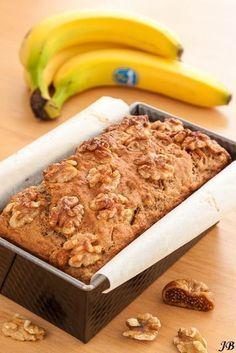 Speltcake met vijgen en banaan (zonder suiker)