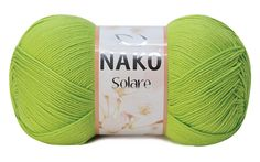 Nako Solrare 100% Cotton. Pack of five / 5 / skiens of high quality Turkish Yarn. Spting Summer Yarn Collection. Free Shipping