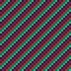 Awakening 4 - Diagonal Checks w/ slant to left fabric by maryyx on Spoonflower - custom fabric