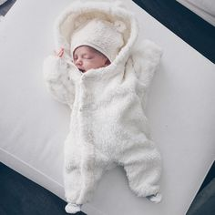 winter baby bear outfit