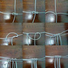 cara membuat tutup tas macrame1