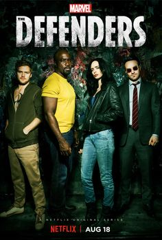 New Poster And Episode Images From Netflix & #Marvel's 'The Defenders' #Marvel