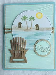 Stampin Up! Waterfront ~ photopolymer stamp set ~ NEW & Card! | eBay