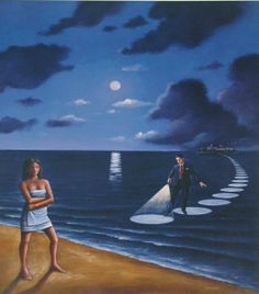 Rafal Olbinski  Polish surrealist painter   Tutt'Art, Artist Study for CAPI Create Art Portfolio Ideas at milliande.com , Art School Student Resources, Surreal, Surrealism. Those Polocks got this thing down. Ha!