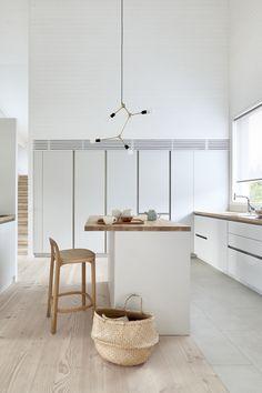 You saved to WOODNOTES COLLECTION 2017 SIRO+ BAR STOOL 65, oak, polished wax Design Ilkka Suppanen and Raffaella Mangiarotti #interiordesign #kitchen #keittiö #wooden furniture #bar stool #design